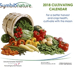 2018 Cultivating Calendar